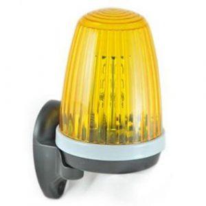 лампы для установки шлагбаума во дворе жилого